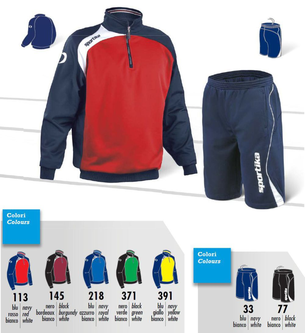In Full Training OVIEDO + LISBONA SPORTIKA Sizes and Colors to Choice