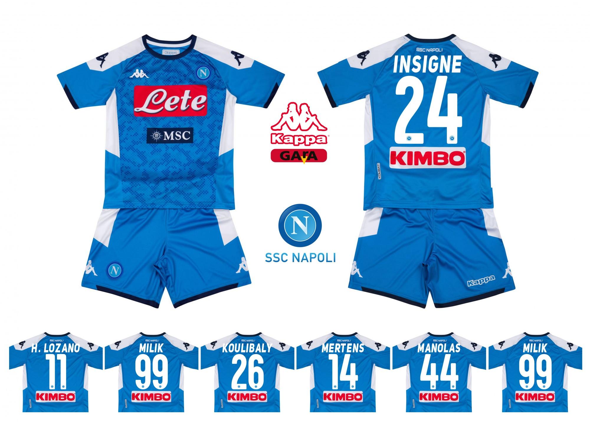 1 Maglia Ssc Napoli 2020 Maradona Kappa Ufficiale per adulti