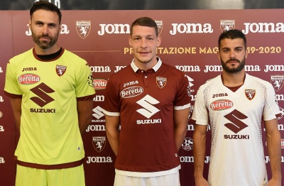 Joma, new technical sponsor of the Torino F.C. presents the new official grenade game collection
